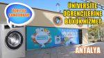 Ücretsiz Çamaşırhane Üniversite Öğrencisine