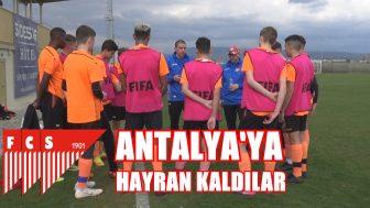 FC SOLOTHURN İLK KEZ TÜRKİYE'DE