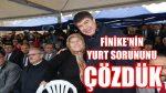 Türel :Finike'nin Yurt Sorununu Çözdük