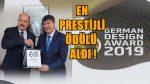 Türel 'e Almanya'nın en prestijli ödülü!