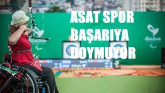 ASAT Spor başarıya doymuyor