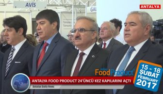ANTALYA FOOD PRODUCT 24 ÜNCÜ KEZ KAPILARINI AÇTI !