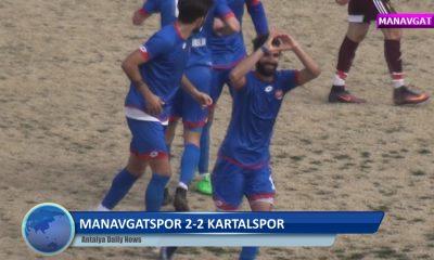 MANAVGATSPOR 2 -2 KARTALSPOR