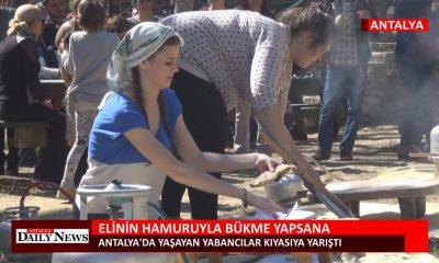 ELİNİN HAMURUYLA BÜKME YAPSANA..!