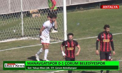 MANAVGATSPOR 0-1 ÇORUM BELEDİYESPOR