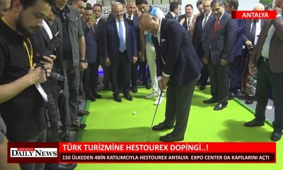TÜRK TURİZMİNE HESTOUREX DOPİNGİ