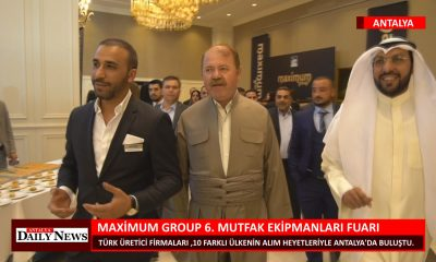 MAXİMUM GROUP 6.MUTFAK EKİPMANLARI FUARI