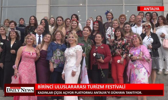 ANTALYA BİRİNCİ ULUSLARARASI TURİZM FESTİVALİ