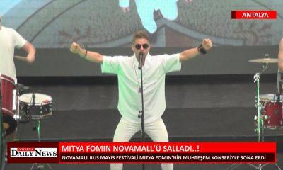 MITYA FOMIN NOVAMALL'Ü SALLADI..!