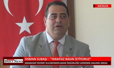 """OSMAN SUBAŞI : """"TARAFSIZ BASIN İSTİYORUZ"""""""