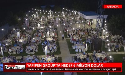 YAPIPEN GROUP TA HEDEF 6 MİLYON DOLAR