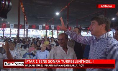 İFTAR 2 SENE SONRA TÜRKBELENİ NDE !