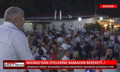 MASMO DAN ÜYELERİNE RAMAZAN BEREKETİ