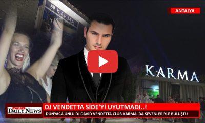 DJ VENDETTA SİDE'Yİ UYUTMADI..!
