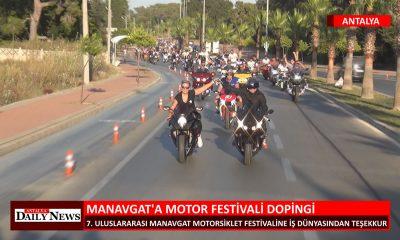 MANAVGAT A MOTOR FESTİVALİ DOPİNGİ