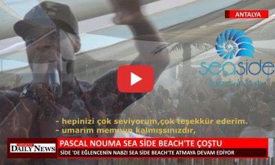 PASCAL NOUMA SEA SİDE BEACH TE ÇOŞTU