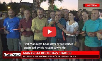 MANAVGAT BOOK DAYS STARTED