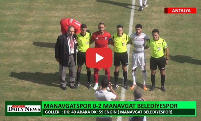 MANAVGATSPOR 0 – 2 MANAVGAT BELEDİYESPOR