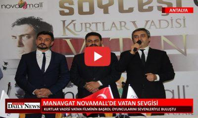 MANAVGAT NOVAMALL'DE VATAN SEVGİSİ