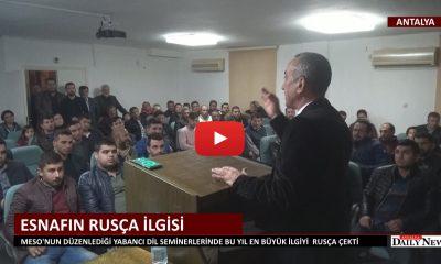 TURİZM ESNAFININ RUSÇA İLGİSİ
