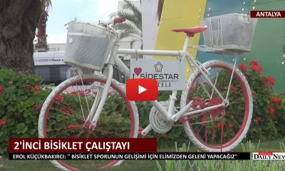 SİDE STAR ELEGANCE'TA BİSİKLET ÇALIŞTAYI