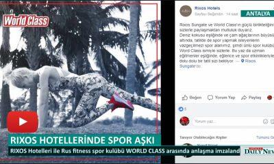 RIXOS HOTELLERİNDE SPOR AŞKI
