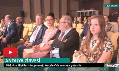 TÜRK- RUS İLİŞKİLERİ ANTALYA ZİRVESİ