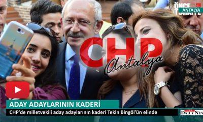 ANTALYA A.ADAYLARININ KADERİ ONUN ELİNDE