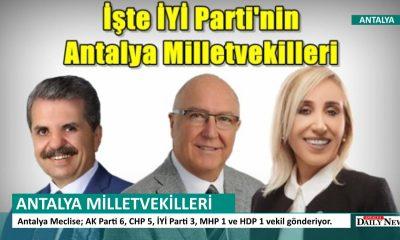 ANTALYA MİLLETVEKİLLERİ