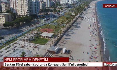 TÜREL'DEN HEM SPOR HEM DENETİM