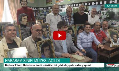 HABABAM SINIFI MÜZESİ ANTALYA'DA AÇILDI