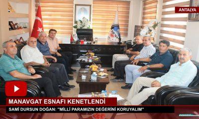 MANAVGAT ESNAFI KENETLENDİ