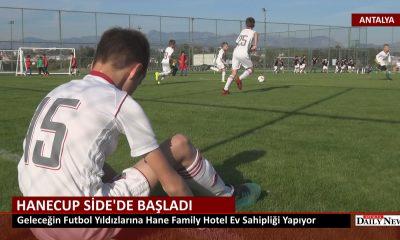 HANECUP SİDE'DE BAŞLADI