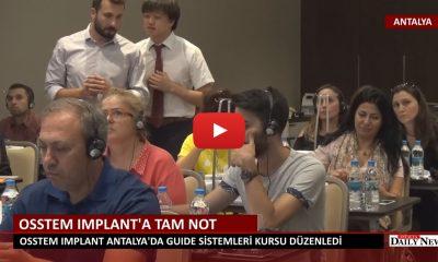 OSSTEM IMPLANTA'A ANTALYA'DA TAM NOT