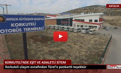 KORKUTELİ'NDE EŞİT VE ADALETLİ SİTEM