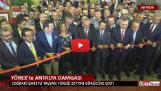 YÖREX 'te ANTALYA DAMGASI