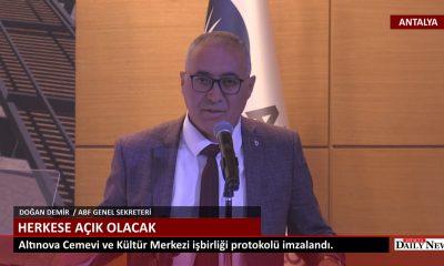 Antalya 'da Cemevi Protokolü İmzalandı