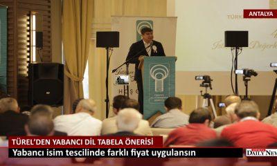 Antalya'da Yabancı Dilde Tabelalar İçin Öneri
