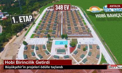 Büyükşehir 'in projeleri ödülle taçlandı