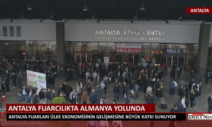 ANTALYA FUARCILIKTA ALMANYA YOLUNDA