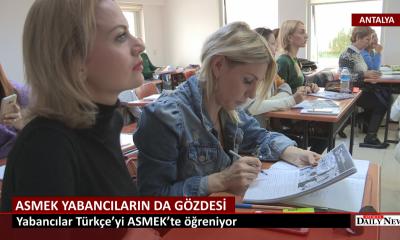 Türkçe'yi ASMEK Öğretiyor