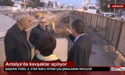 Antalya 'da Kavşaklar açılıyor