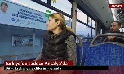 Türkiye'de sadece Antalya Büyükşehir
