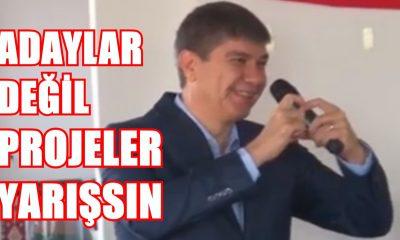 """Menderes Türel:Adaylar Değil Projeler Yarışsın"""""""