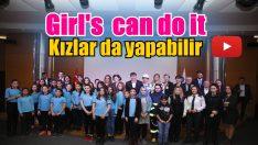 """Türel :  """"Girls Can Do It"""""""