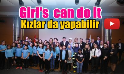 "Türel :  ""Girls Can Do It"""