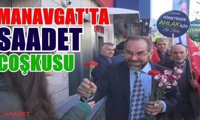 MANAVGAT'TA SAADET COŞKUSU