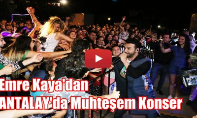 EMRE KAYA'DAN MUHTEŞEM KONSER