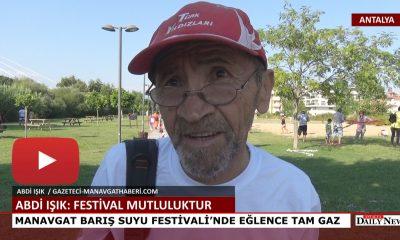 MANAVGAT BARIŞ SUYU FESTİVALİ