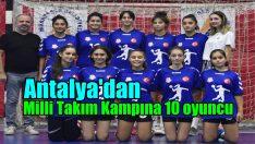 Muratpaşa'dan Milli takım kampına 10 oyuncu
